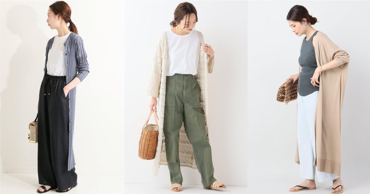 不僅防曬還能增加層次感!豔陽日少不了的「長罩衫」這個夏天就學日本女生這樣穿