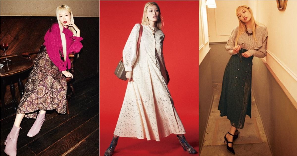 粉紅髮超模 Fernanda Ly 換成金髮現身!用高端品牌態度展演日牌 Lily Brown 秋冬系列