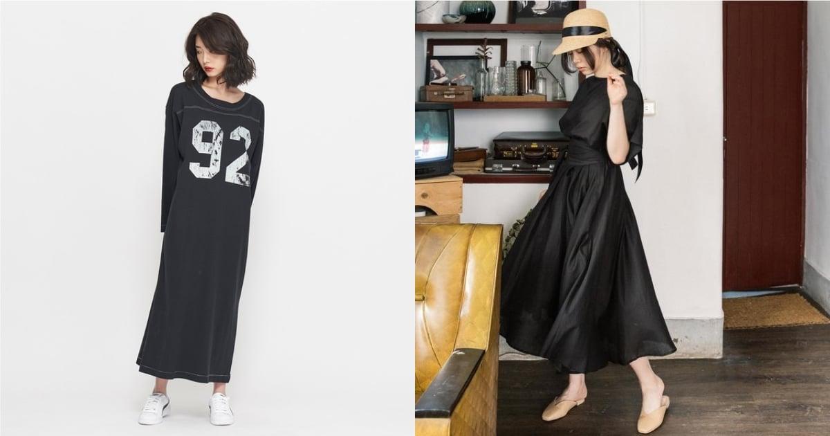 可以帥氣也可以甜美!衣櫃裡不可缺少的黑色洋裝 3 選