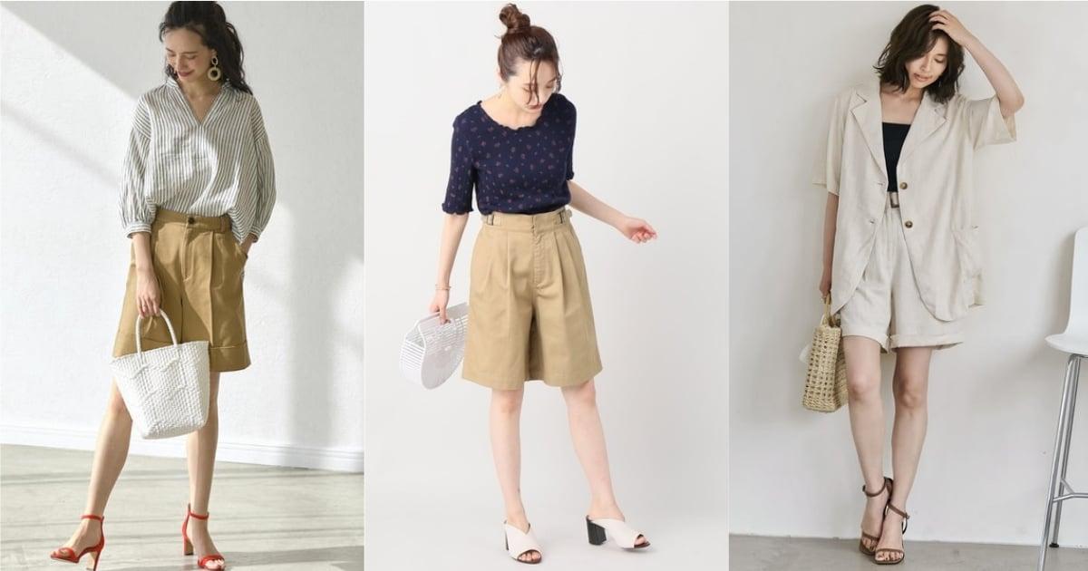 方便穿搭又時髦!搶先以「寬感五分褲」打造不一樣的衣著個性