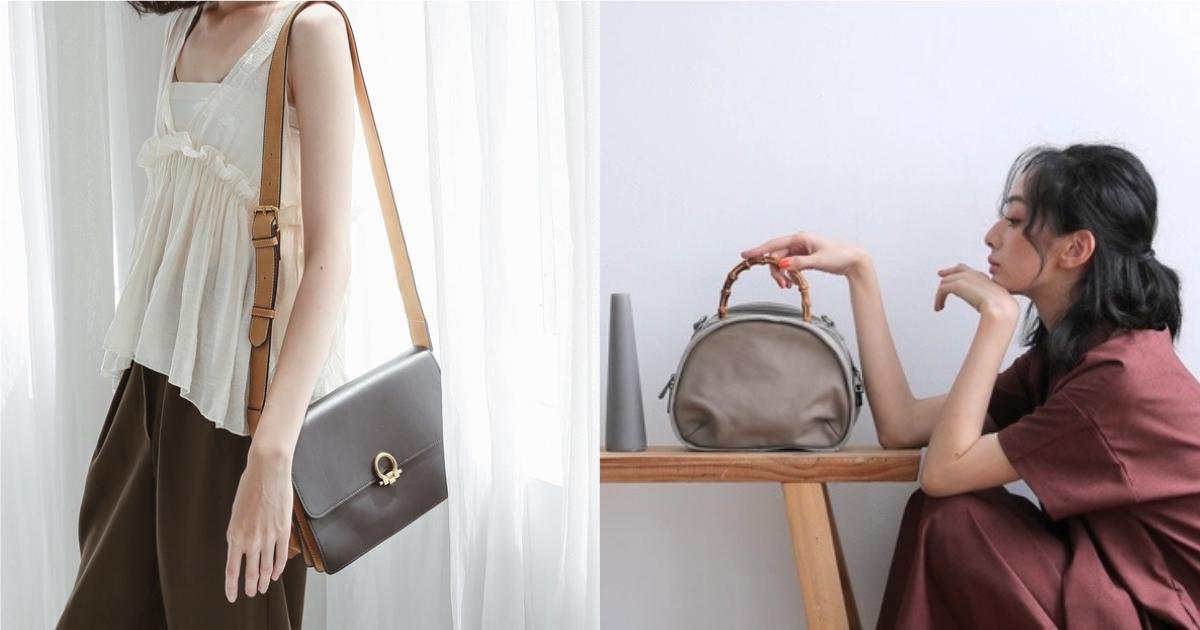收納和百搭缺一不可!多夾層的美型包款讓外出兼具造型感與輕便度