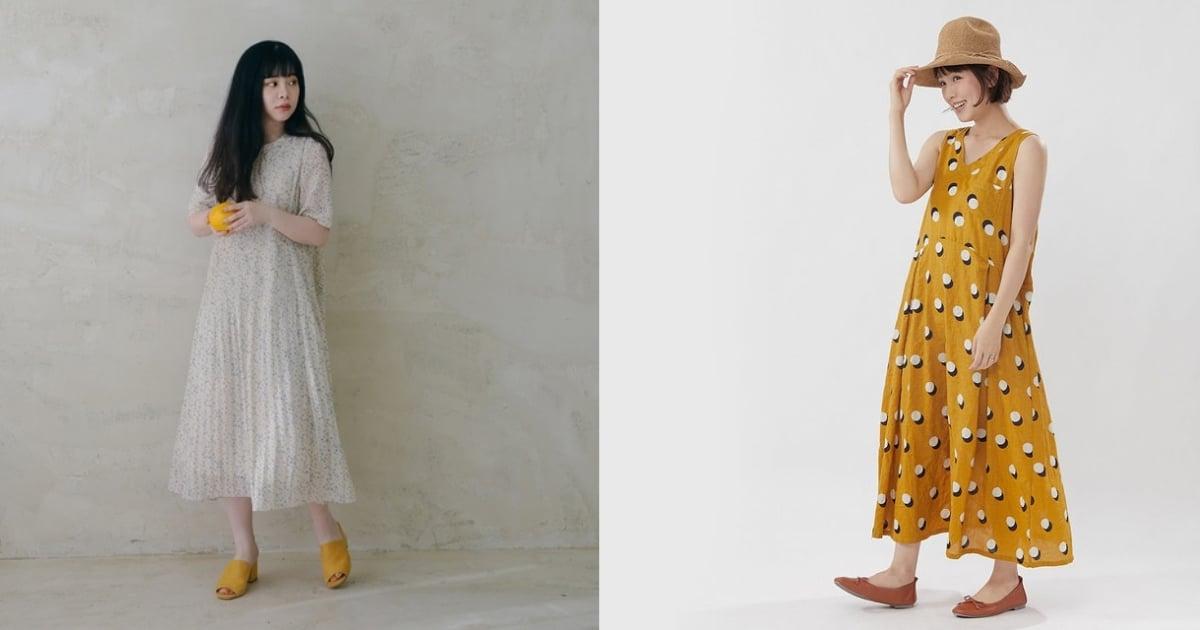 賴床的日子就穿上洋裝!單色 NG,選擇印花款才能快速完成亮眼造型