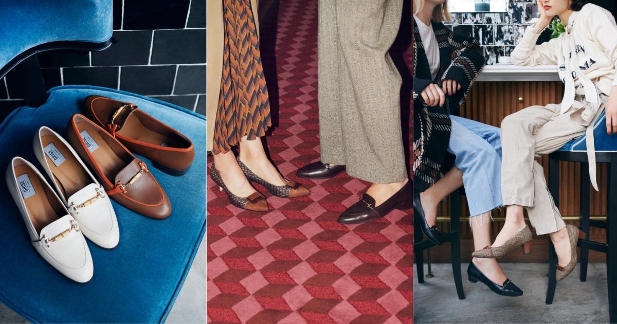 一起透過鞋履展演復古韻味吧!Le Talon 季節形象讓人迫不及待想換上秋冬美鞋