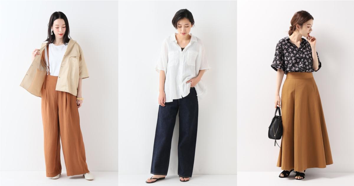 開始轉涼的季節最好穿!短袖襯衫的 10 套穿搭先看日本女生示範