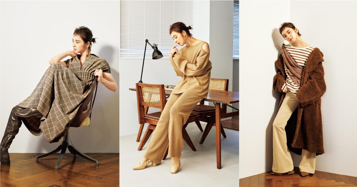 時髦的溫柔女子秋日這樣穿!「SNIDEL × 佐佐木希」秋季系列形象公開中
