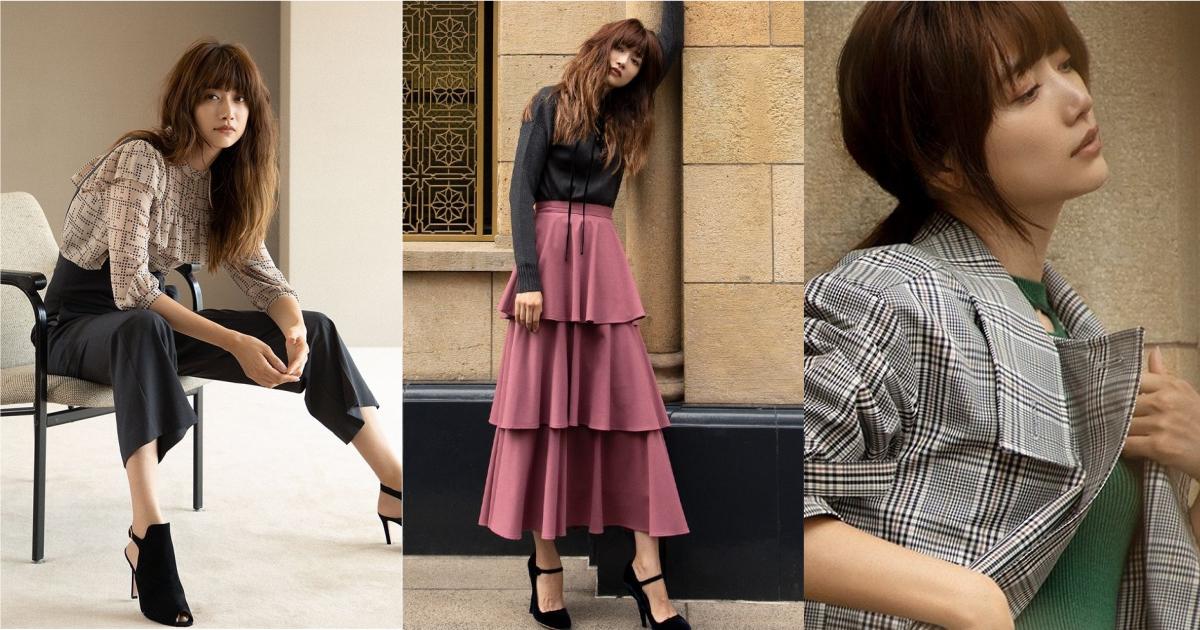 專屬於大人感的優雅風格!日牌 COEL 用層次拼接展演淑女系的秋日衣裝