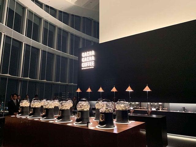 【六本木】期間限定!轉蛋x咖啡x美景!在52樓觀景台自己煮咖啡「GACHAGACHA COFFEE」