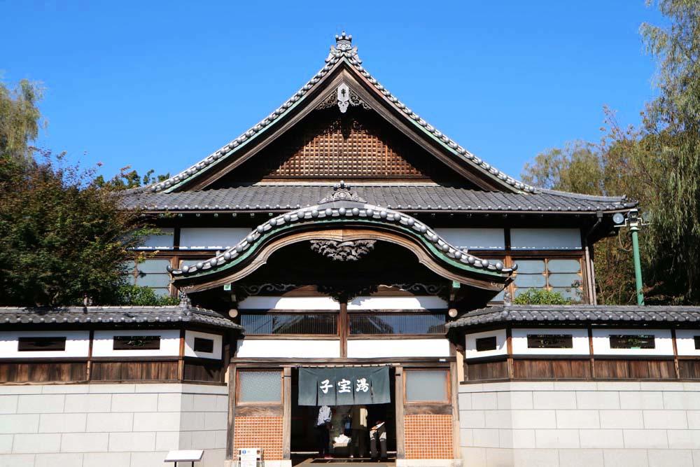 搭乘昭和電車回到江戶!【東京】在「江戸東京建築園」來趟穿越時空之旅