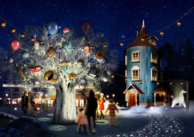 【東京近郊】今年冬天不妨在「嚕嚕米主題樂園 (Moomin Valley Park)」來趟北歐極光魔幻旅程吧!