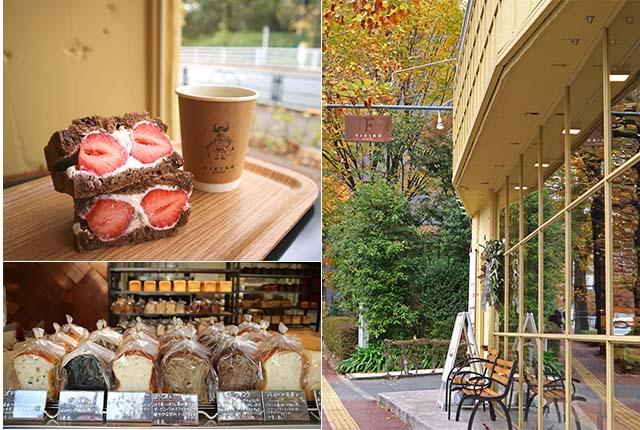 【東京乃木坂】日本在地人的口袋名單!在鵝黃色麵包坊「Viking Bakery F」品嘗「絕品草莓三明治」