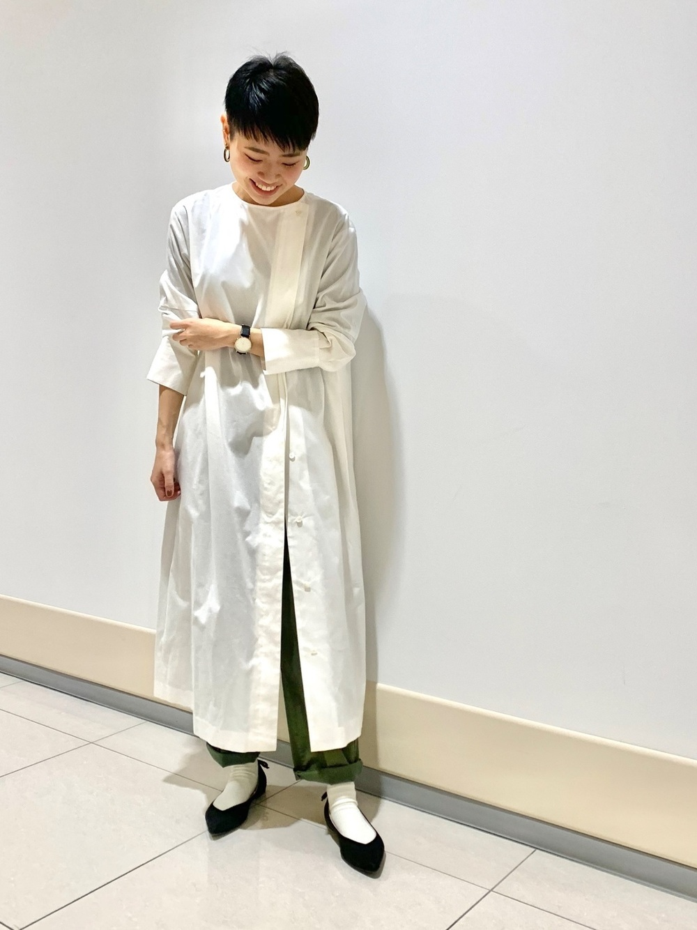 日系 長 版 上衣